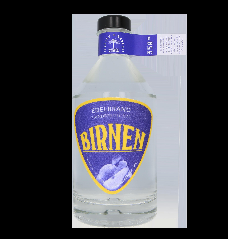Birnen Bayer und Bayer Bio Edelbrand Bioland 350ml