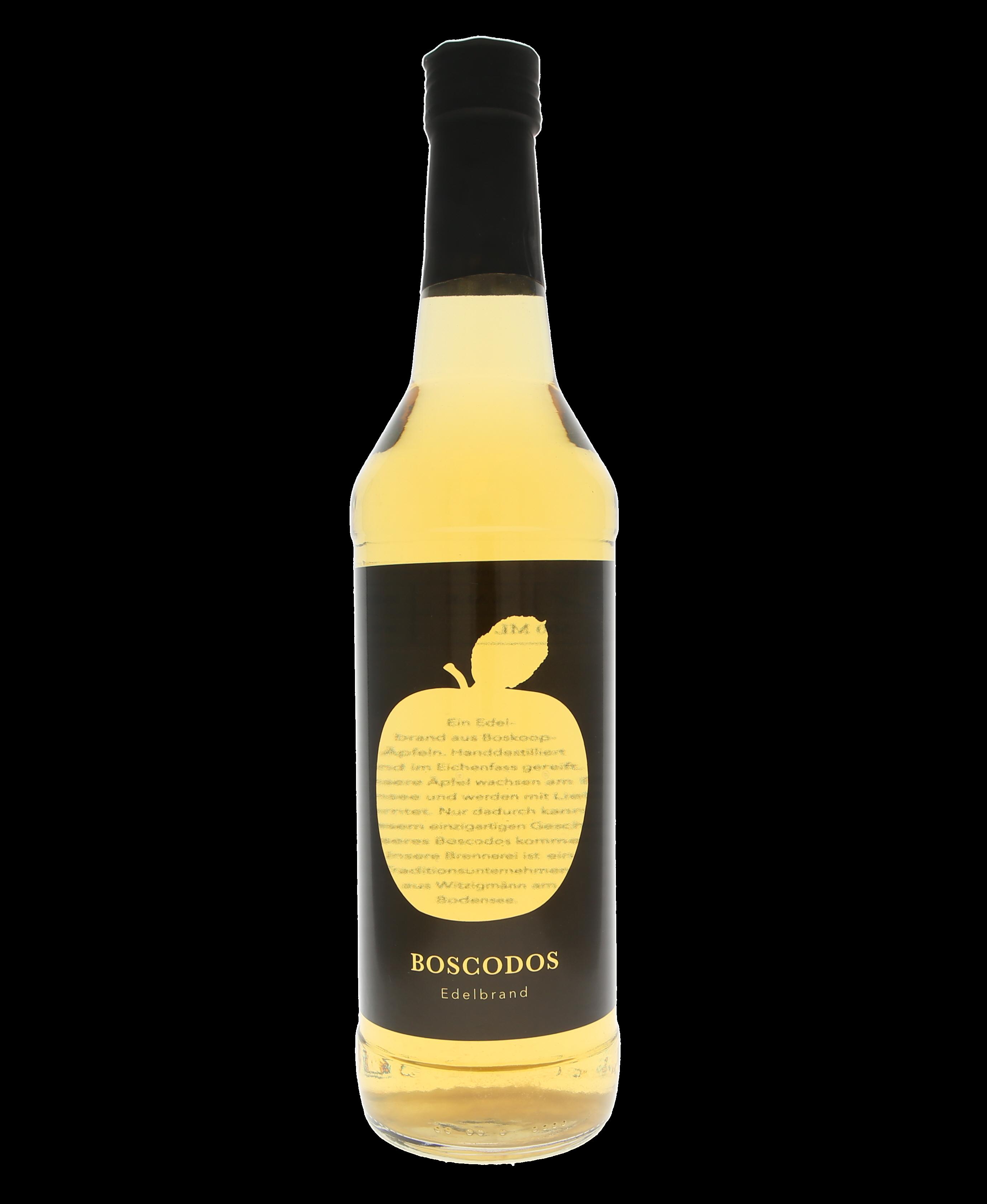 Boscodos® Boskoop Apfel Eichenfass Bayer und Bayer Edelbrand Bioland 500ml